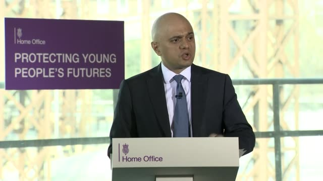 sajid javid saying shamima begum seeking uk legal aid in her fight against having her citizenship revoked is an independent decision and not for... - social issues stock videos & royalty-free footage