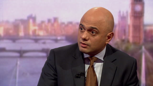 sajid javid saying that of the 164 cases of people affected by the windrush scandal 18 were identified as the most severe - sajid javid stock videos & royalty-free footage