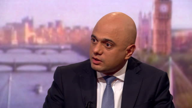 sajid javid saying the bill to take no deal off the table is an attempt to kneecap the government in brexit negotiations - bill legislation stock videos & royalty-free footage
