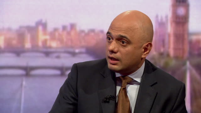 sajid javid saying the chequers brexit proposal is the only deal the uk has on the table and that the uk will not be signed into a bad deal - sajid javid stock videos & royalty-free footage