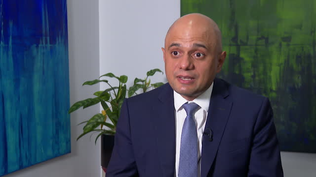 """sajid javid saying the conservative party has to accept all the recommendations of the islamophobia report """"unconditionally and in full"""" - report document stock videos & royalty-free footage"""