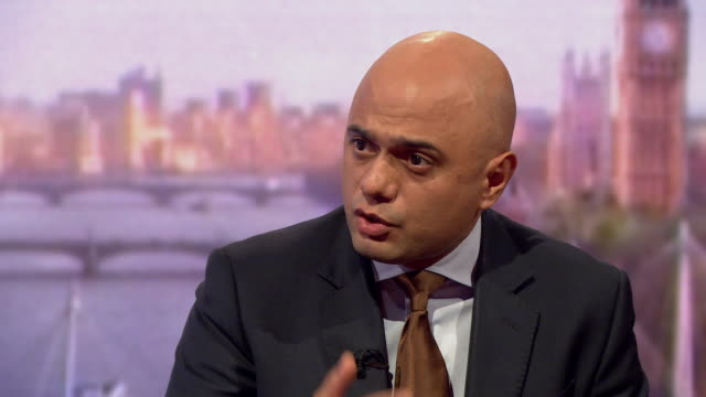 sajid javid saying the evidence is now crystal clear that the salisbury novichok attack was ordered by the russian state - gru点の映像素材/bロール