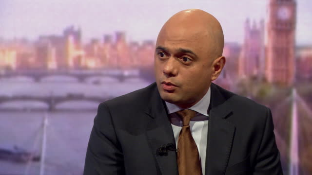 sajid javid saying the gru is very well run and is receiving its instructions from the highest levels of russian government - gru stock videos & royalty-free footage