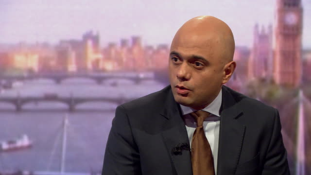 stockvideo's en b-roll-footage met sajid javid saying the gru who are alleged to have carried out the salisbury novichok attack would only act on the orders from the highest levels of... - gru