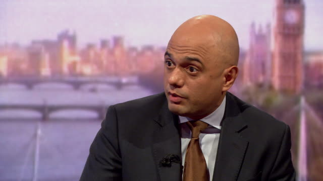 sajid javid saying the home office estimates around 164 people were wronged in the windrush scandal - sajid javid stock videos & royalty-free footage