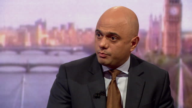 sajid javid saying the uk has enormous capability to defend ourselves as long as it is alongside international allies - sajid javid stock videos & royalty-free footage