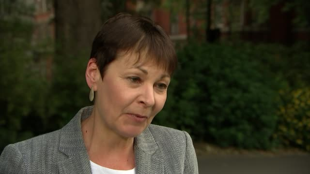 Sajid Javid says review into cannabis not a first step to legalisation London Westminster Caroline Lucas interview SOT
