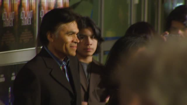 sal lopez at the 'the astronaut farmer' premiere at the cinerama dome at arclight cinemas in hollywood, california on february 20, 2007. - arclight cinemas hollywood stock videos & royalty-free footage