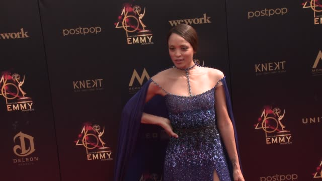 sal stowers at the 2019 daytime emmy awards at pasadena civic center on may 05 2019 in pasadena california - daytime emmy preisverleihung stock-videos und b-roll-filmmaterial