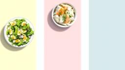 salad plates stopmotion 4k