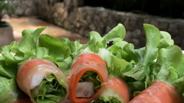 Roll-Salat, verkleinern