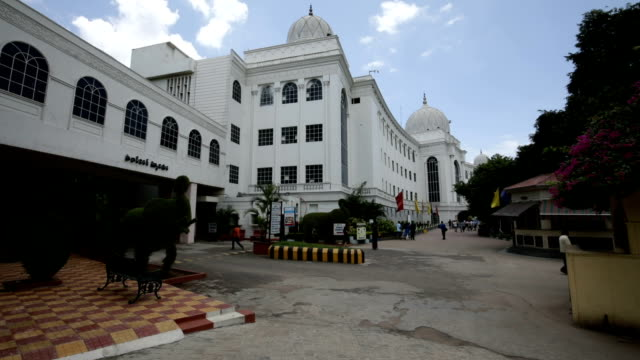 salarjung museum in hyderabad,india - museum stock videos & royalty-free footage