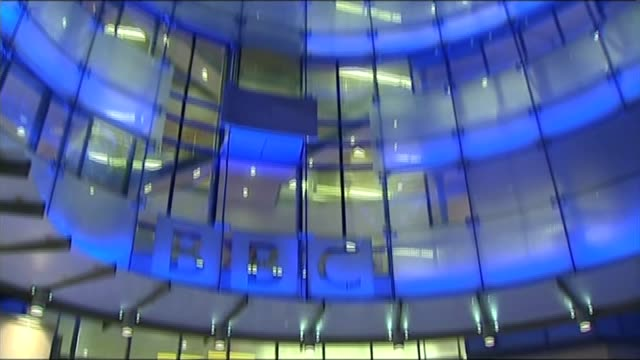 BBC salary report reveals huge gender pay gap R11111202 / London General view of BBC New Broadcasting House TILT