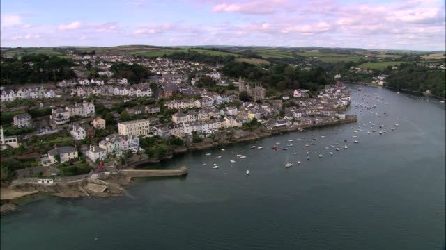 salcombe - devon stock videos & royalty-free footage