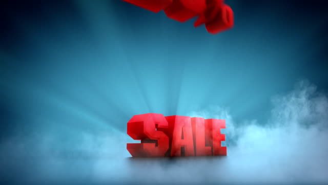 sale. percentage animation. from -10% to -50% - sale stock videos & royalty-free footage