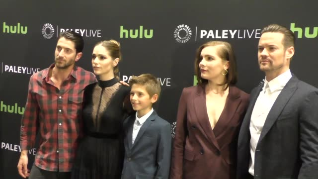 "salem cast at paleylive salem"" season 3 premiere screening and conversation on november 01, 2016 in beverly hills, california. - salem stock videos & royalty-free footage"