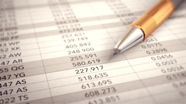 sales growth - ballpoint pen stock videos & royalty-free footage
