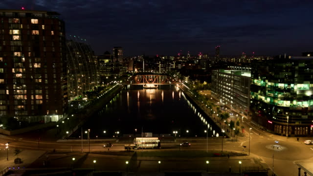 salford quays 3 - manchester england stock videos & royalty-free footage