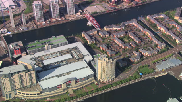 salford quays - salford quays stock videos & royalty-free footage