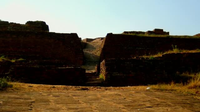salihundam buddhist site - lr pan - pan greek god stock videos & royalty-free footage