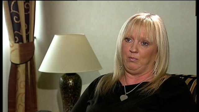 linda bowman interview **itv england london int linda bowman interview sot wish they'd bring back the death penalty / murderers rapists and... - firing squad stock videos and b-roll footage