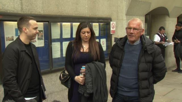 sally challen's brother chris jenney saying it is a fantastic day for the family after she was granted bail - awe stock videos & royalty-free footage