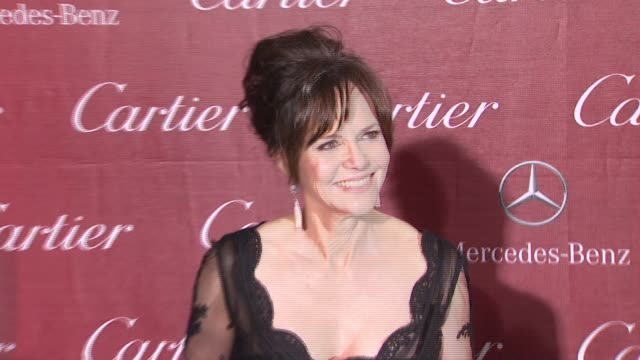 sally field at 24th annual palm springs international film festival awards gala on 1/5/13 in los angeles ca - sally field stock videos & royalty-free footage