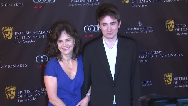 sally field at bafta los angeles awards season tea on 1/12/13 in los angeles ca - sally field stock videos & royalty-free footage
