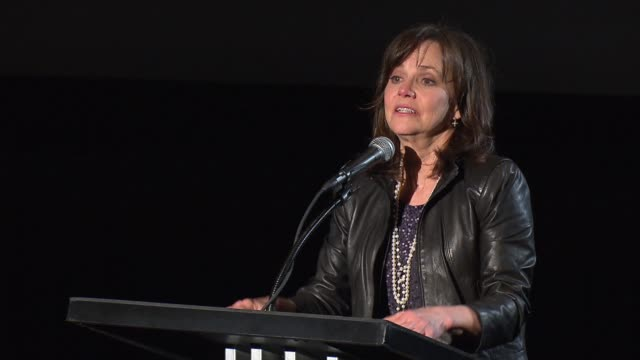 speech sally field at target presents afi night at the movies on 4/24/13 in los angeles ca - sally field stock videos & royalty-free footage