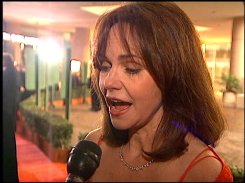 sally field at the 1996 golden globe awards at the beverly hilton in beverly hills california on january 21 1996 - sally field stock videos & royalty-free footage
