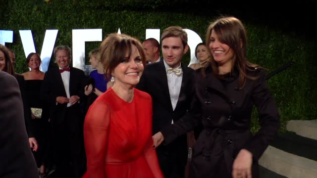 sally field at the 2013 vanity fair oscar party hosted by graydon carter sally field at the 2013 vanity fair oscar party at sunset tower on february... - sally field stock videos & royalty-free footage