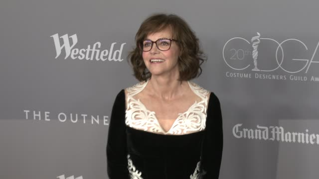 sally field at the 20th costume designers guild awards at the beverly hilton hotel on february 20 2018 in beverly hills california - sally field stock videos & royalty-free footage