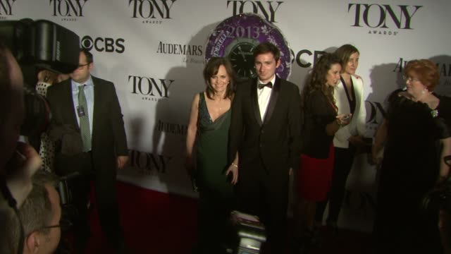 Sally Field at The 67th Annual Tony Awards Arrivals at Radio City Music Hall on June 09 2013 in New York New York