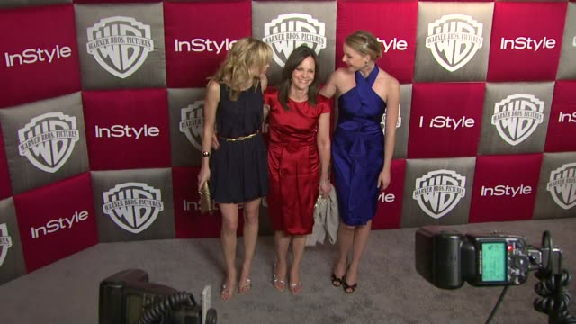 sally field at the instyle 2009 golden globes after party part 2 at los angeles ca - sally field stock videos & royalty-free footage