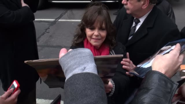 sally field at the 'late show with david letterman' studio sally field at the 'late show with david letterman on february 07 2013 in new york new york - sally field stock videos & royalty-free footage