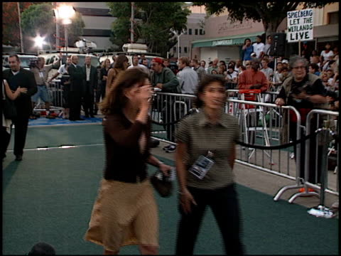 sally field at the 'saving private ryan' premiere at mann theatre in westwood california on july 21 1998 - 1998 stock videos & royalty-free footage