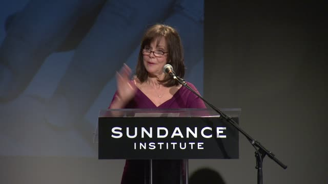 speech sally field explains why the theatre program at sundance named this award after tennessee williams at 2013 tennessee williams award at 711... - sally field stock videos & royalty-free footage