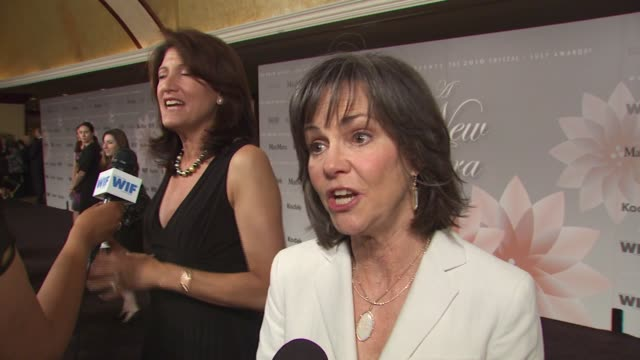 sally field on wearing maxmara and what she loves about her ensemble what she appreciates about the work women in film does at the 2010 women in film... - sally field stock videos & royalty-free footage