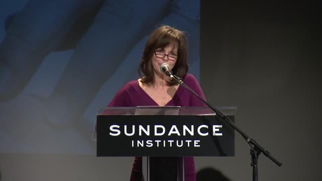 speech sally field quotes tennessee williams on reaction to branden jacobsjenkins' plays 2013 at tennessee williams award at 711 greenwich street on... - sally field stock videos & royalty-free footage
