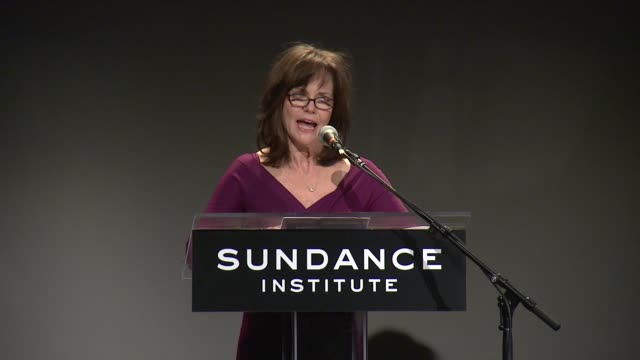 speech sally field talks about tennessee williams being one of the most influential playwrights in this country at 2013 tennessee williams award at... - sally field stock videos & royalty-free footage