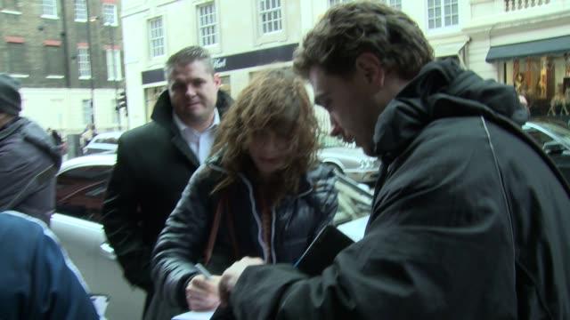 sally hawkins at celebrity sightings in london on february 17 2014 in londonengland - sally hawkins stock videos & royalty-free footage