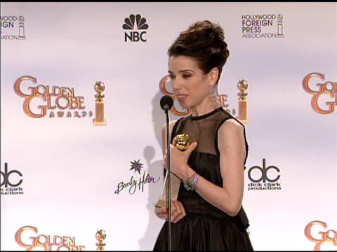 sally hawkins at the 66th annual golden globe awards press room at los angeles ca - sally hawkins stock videos & royalty-free footage