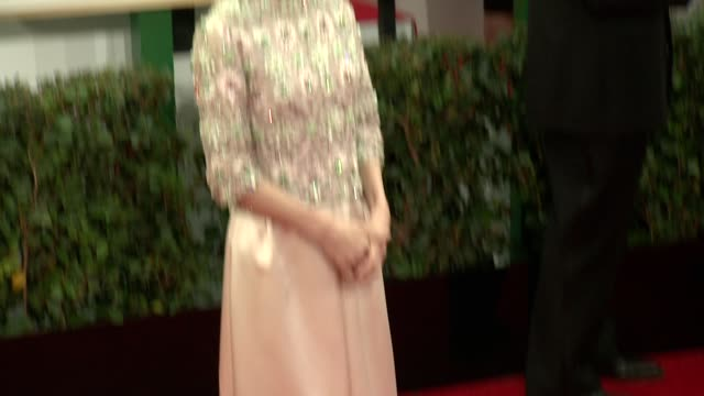 sally hawkins at the 71st annual golden globe awards arrivals at the beverly hilton hotel on in beverly hills california - sally hawkins stock-videos und b-roll-filmmaterial