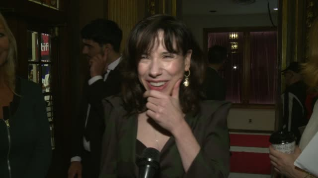 interview sally hawkins at the elgin on september 11 2017 in toronto canada - sally hawkins stock-videos und b-roll-filmmaterial