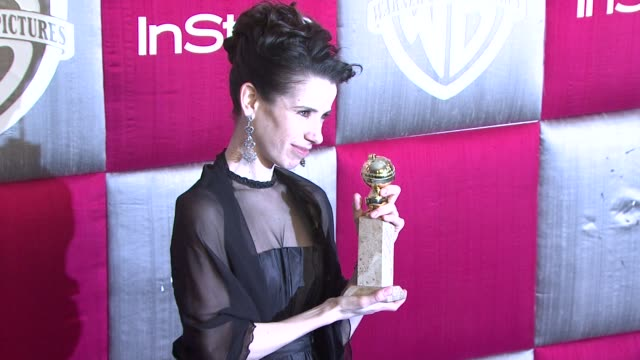 sally hawkins at the instyle 2009 golden globes after party part 3 at los angeles ca - sally hawkins stock videos & royalty-free footage
