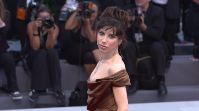 sally hawkins at 'the shape of water' red carpet 74th venice international film festival at palazzo del cinema on august 31 2017 in venice italy - sally hawkins stock videos & royalty-free footage