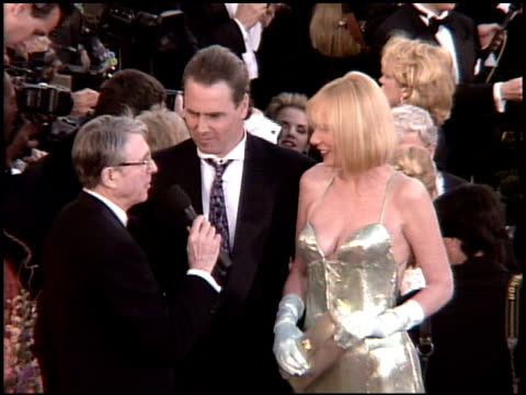 sally kellerman at the 1995 academy awards arrivals at the shrine auditorium in los angeles, california on march 27, 1995. - shrine auditorium stock videos & royalty-free footage
