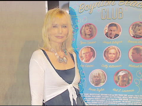 sally kellerman at the 'boynton beach club' los angeles premiere at silver screen theater @ the pacific design center in west hollywood, california... - pacific design center stock videos & royalty-free footage