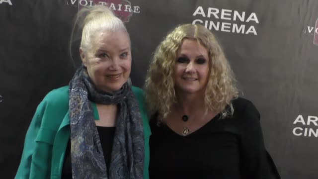 sally kirkland and susan traylor at arena cinema in hollywood at celebrity sightings in los angeles on september 10 2016 in los angeles california - sally kirkland stock videos and b-roll footage
