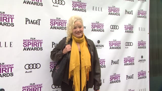 sally kirkland at 2012 film independent filmmaker grant and spirit award nominees brunch on 1/14/2012 in west hollywood ca - sally kirkland stock videos & royalty-free footage